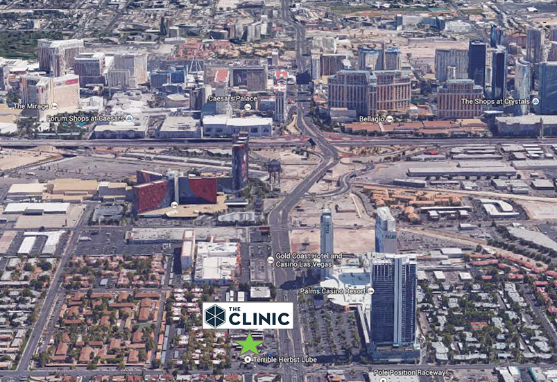 The Clinic Nevada Satelite View